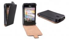 Patona Slim Flip-Cover Klapp-Tasche Schutz-Hülle Case für LG Optimus L3 2 (E430)