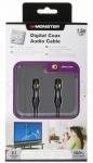 Monster Digital Koax-Kabel Audio Cinch-Kabel Koaxial für Subwoofer Blu-Ray etc