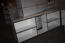 USM Haller Sideboard mit Mittelsteg 75/35 75/50 WEIß