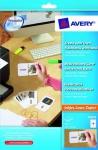 Avery 100x Lern-Karten mit Band A4 Drucker Karteikarten Zettel Studium Schule