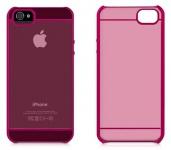 Macally Cover Schutz-Hülle Hard-Case Schale Tasche Box für Apple iPhone SE 5S 5