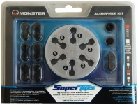 Monster Super-Tips S-M GEL Ersatz-Ohrstöpsel Ohrpolster Ohrhörer InEar Kopfhörer