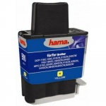 Hama Druckerpatrone Print Cartridge für Brother DCP 115C Tinte Yellow Gelb 13 ml