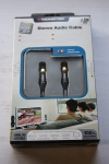 Monster Cable Stereo Audio 1m HQ Verbindungs-Kabel Cinch-Kabel Cinch-Stecker RCA