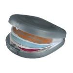 Hama 24er CD DVD Blu-Ray Hard-Case Tasche Wallet Aufbewahrung Hülle Mappe Box