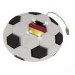 Hama Mauspad Mouspad USB- Kabel rutschfest Leuchtend Deutschland Fussball