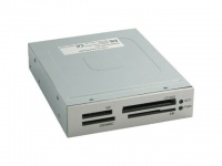 """3, 5"""" Card-Reader Intern Kartenleser für SD MMC CF I II MS Pro SM Kartenlesegerät"""