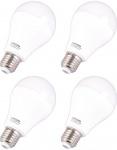 4x Patona LED-Lampe Glüh-Birne E27 20W / 175W 200° Warm-Weiß A70 Leuchtmittel