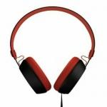 Coloud The Boom Over-Ear Kopfhörer Headset Ohrhörer Mikrofon 3, 5mm Klinke Rot