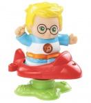 Vtech Kleine Entdeckerbande Figuren - Emil mit Flugzeug Figur Lern-Spielzeug