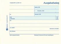 Avery Zweckform 303 Ausgabebeleg A6 gelb 50x Blatt Vordruck Quittung Kasse Beleg