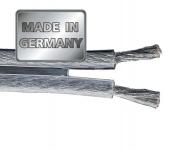 Hama Lautsprecher-Kabel 150m Silver Class 2, 5mm² OFC Rolle Spule Boxen-Kabel