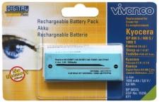 Vivanco Akku für Kyocera BP-800S BP-900S BP-1000S FineCam S3 S4 S5R S5 S30 S40