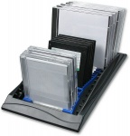 "Speedlink Combo Rack CD DVD ZIP MO 3, 5"" Diskette CD-Regal CD-Rack Ständer PC EDV"