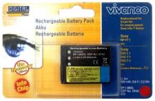 Vivanco LiIon Akku Batterie für Sony NP-FT1 FT 1 NPFT1 Cybershot DSC L1 T1 T3 ..