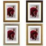 Hama Kunststoff-Rahmen Lissabon 10x15 13x18 20x30 40x50cm Portrait-Bilderrahmen