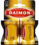 Daimon 2er PACK 2x Mono D Batterie D-Batterien 1, 5V Alkaline LR20 MN1300 Battery