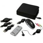 X-tensions Notebook Connectivity Kit Zubehör-Set Maus USB-Hub Headset Kabel etc