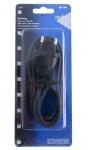 Schwaiger Strom-Kabel Euro 8 Radio Netzkabel Doppelnute Euro-Stecker Netzleitung