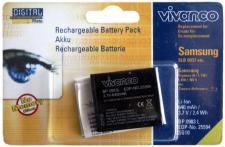 Vivanco Li-Ion Akku für Samsung SLB-0937 Digimax i8 L730 L830 NV4 NV33 PL10 ST10