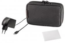 Hama Universal Navigon Starter Set S2 5-teilig Ladegerät Displayfolien Tasche