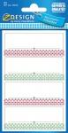 Avery 120 Stück Haushaltsetiketten Aufkleber Einmach-Etiketten Küchen-Etiketten