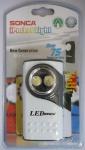 Sonca iPocket Light LED Taschenlampe Lampe Leuchte hell mit 2x Japan LED 75 Std.
