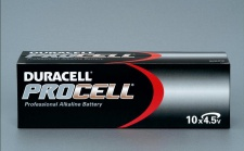 Duracell Procell 4, 5 V Volt Batterie 10er Pack MN1203 3LR12 Flachbatterie MN1203
