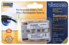 Vivanco Akku Batterie für Samsung SB-L220 SB-LS220 SB-L110 SB-LS110 SB-LS70 L70