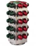 Hama Kapsel-Ständer Halter Halterung Kapsel-Spender für 80x Nespresso Kapseln
