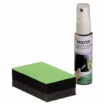 Hama Exxter Bildschirm Reinigungs-Set 30ml + Schwamm Reiniger Reinigung Pflege