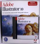 Adobe Illustrator 10 Upgrade Version Deutsch CD + BOX Software für MAC OS