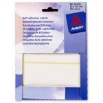 Avery Zweckform 800x selbstklebende Etiketten 63 x 102 mm weiß Aufkleber Label