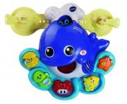 Vtech Baby Badespaß Blubberwal Badewannen-Spielzeug Wal Seifen-Blasen Lernen