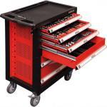 Profi Werkzeugwagen hochwertiges 177-tlg Werkzeug KFZ Montage Werkstattwagen