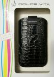DOLCE VITA Tasche Etui Hülle für LG E435 E430 E400 E460 E455 Optimus L3 L5 II 2