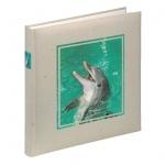 Hama Buch-Album Foto-Album Delfin Delphin 60x Seiten 360x Bilder Einsteck-Album