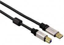 Hama HQ Premium 1, 8m USB-Kabel 3.0 Anschlusskabel für PC HDD Cardreader Drucker