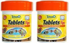 Tetra Tips 150x Futter-Tabletten Fisch-Futter Zierfischfutter Hafttabletten Tabs