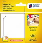 Avery Etiketten-Block Universal Aufkleber 94x70mm weiß Klebe-Zettel Beschriftung