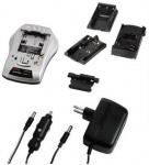 Hama Delta Akku Ladegerät KFZ Lader für Sony Canon JVC etc Kamera DSLR Camcorder