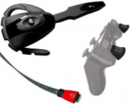 Gioteck PACK Wireless BT Bluetooth Headset EX-01 HDMI-Kabel .. für Sony PS3 PS 3