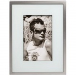 Hama Portrait Rahmen Lille 10x15cm Metall Fotorahmen Bilderrahmen Portraitrahmen