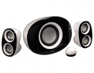Hama 2.1 Subwoofer-System White Orca Sound-System Lautsprecher Boxen für PC TV