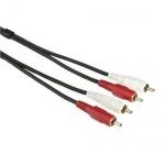 HAMA Audio CINCHKABEL 2 Stecker auf 2 Stecker 10m