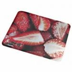 Hama Laser Mauspad Mouspad Erdbeere Flach + Klebende Unterseite für Lasermäuse