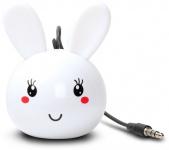 Cellux tragbarer Lautsprecher Rabbit 3, 5mm Klinke für Handy MP3 Player Schwarz