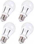 4x Patona LED-Lampe Glüh-Birne E27 10W / 60W Warm-Weiß 3000K RA80 Leuchtmittel