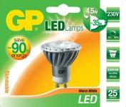 GP LED Strahler dimmbar GU10 3, 5W / 35W Warmweiß Lampe Glüh-Birne Leuchtmittel