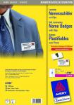 Avery Zweckform L4788 30x Namens-Schilder Clips Laminier Plastik-Karten Ausweise